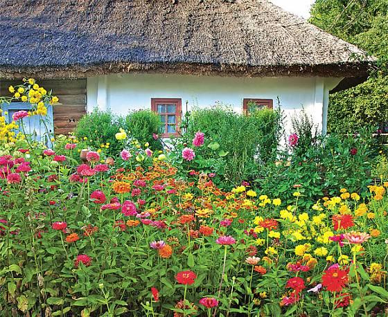 Venkovská zahrada