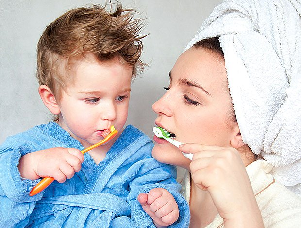 čištění zoubků