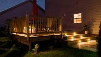 Osvětlená veranda