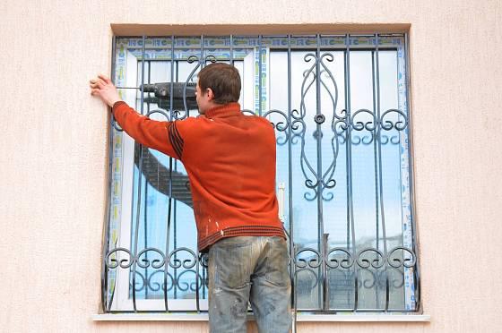 Mříže spolehlivě ochrání okna
