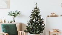 Jednoduchý vánoční styl