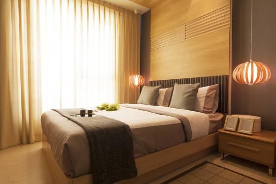 Předností kontinentální postele je její výška