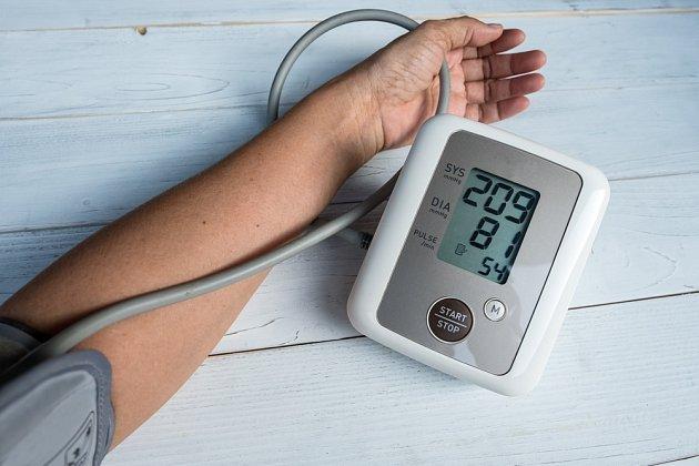 Vysoký krevní tlak je nebezpečný