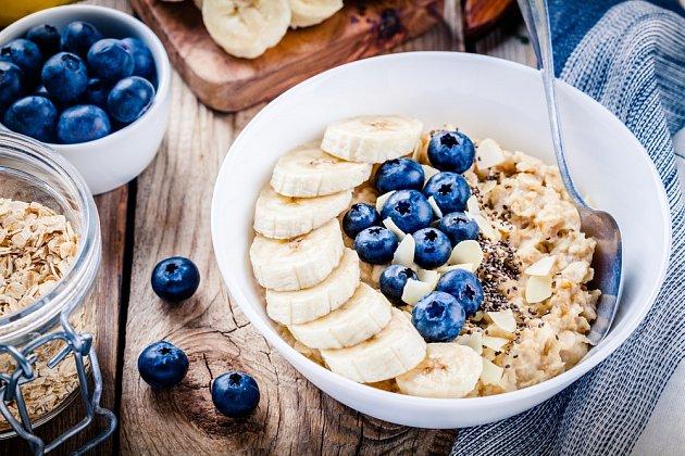Lahodná a zdravá ovesná snídaně