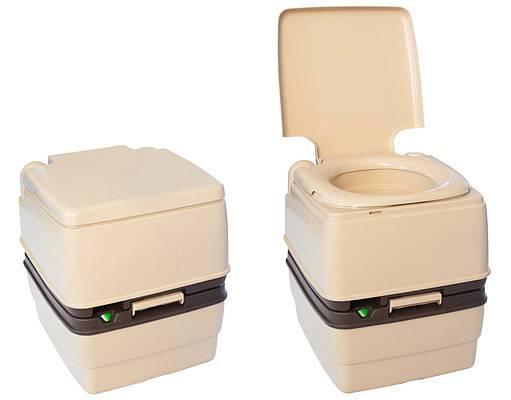 toalety, které exkrementy pouze shromažďují