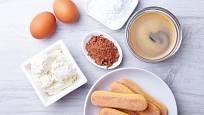 Na tiramisu potřebujete italské cukrářské piškoty.