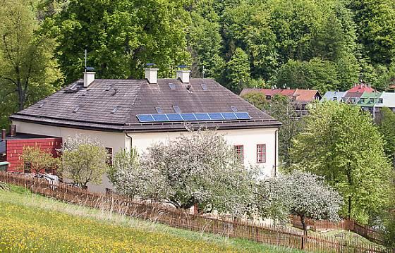 Dům obnovy tradic a ekologické kultury první jaro po rekonstrukci