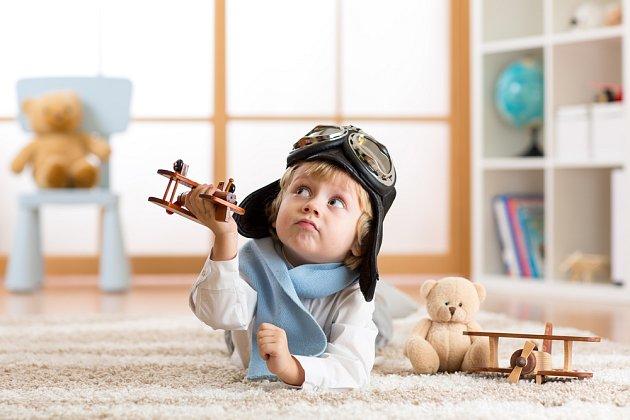 Děti si hrají všude a se vším. Myslete na to i při úpravách stávajícího bytu.