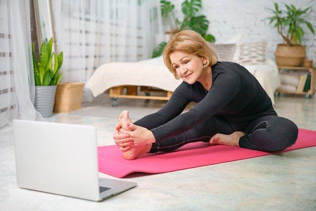 Inspiraci pro cvičení můžeme najít i na internetu.