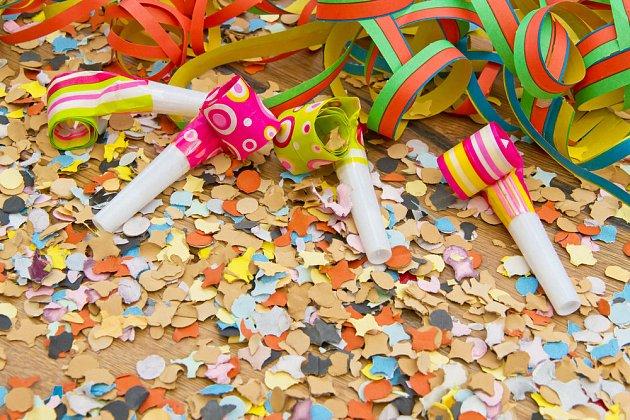 Vyrobíte třeba konfety na silvestr