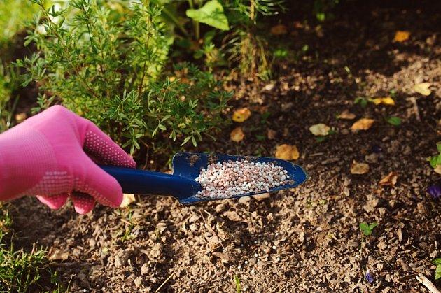 Anorganická hnojiva.