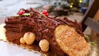 La Bûche de Noël – francouzské vánoční polínko