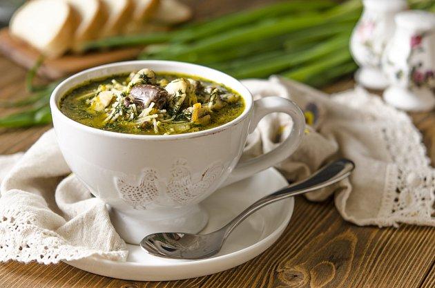 kaldoun, polévka z drobů