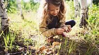 Děti nenechte houby ochutnávat