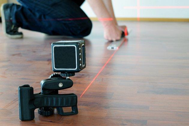 Laserový měřič pomůže při stavbě i rekonstrukci