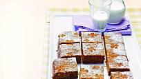 Mrkvový koláč je vláčný a lahodný