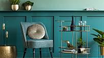 Zvolte do obývacího pokoje zajímavé barvy.