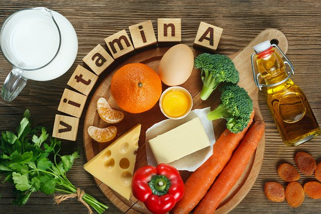 Vitamin A je rozpustný v tucích, vždy ho jezte tedy s ním.