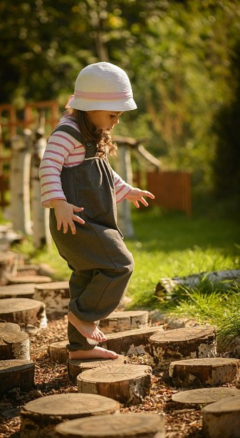 Bosou stezku si užijí hlavně děti