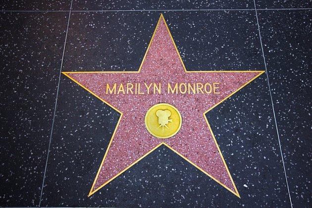 Hollywoodský chodník slávy je příkladem použití teraca