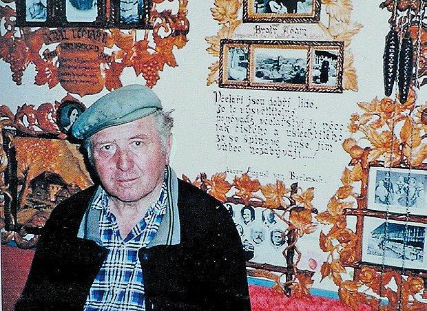 Josef Mach na starší fotografii