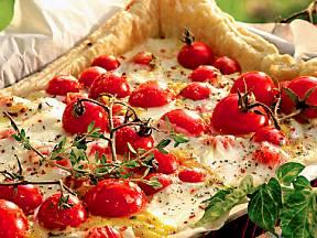rajčatový koláč