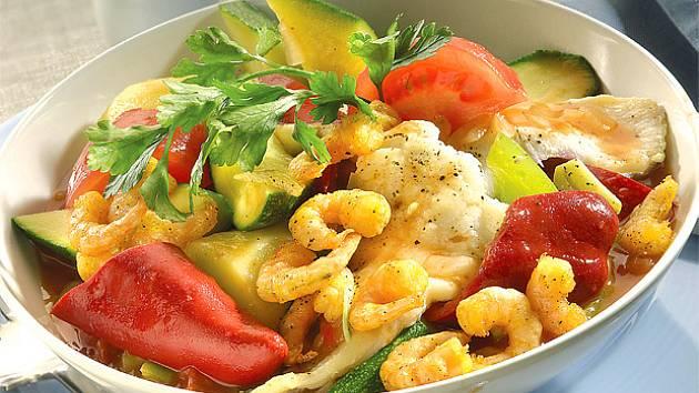 Ryba v zelenině
