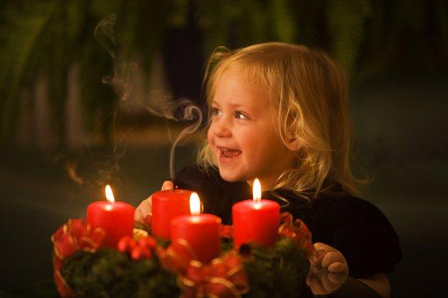 vánoční atmosféru zvlášť milují děti