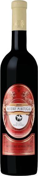 Krist, Svatomartinské - Modrý Portugal ((c) Víno-klub)