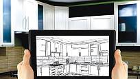 je dobré si rozvržení kuchyně prvně navrhnout alespoň na papíře