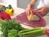 Voskované ubrousky jsou vhodné k balení pečiva.