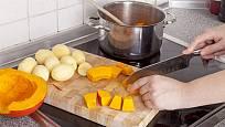 Hokkaido není třeba před vařením či pečením loupat