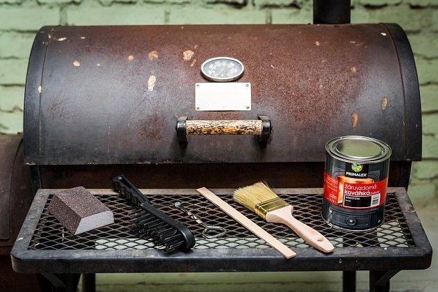 Renovace grilu vám zabere jen pár hodin času.