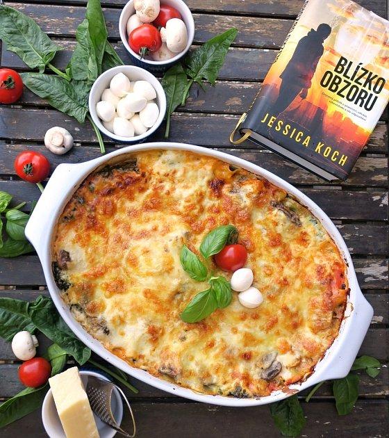 Vegetariánské lasagne podle Jessicy Koch