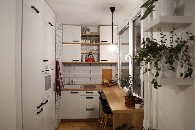 Malá kuchyň vyžaduje dobré plánování.
