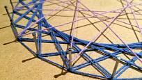 String art vzniklo původně jako pomůcka pro výuku matematiky.