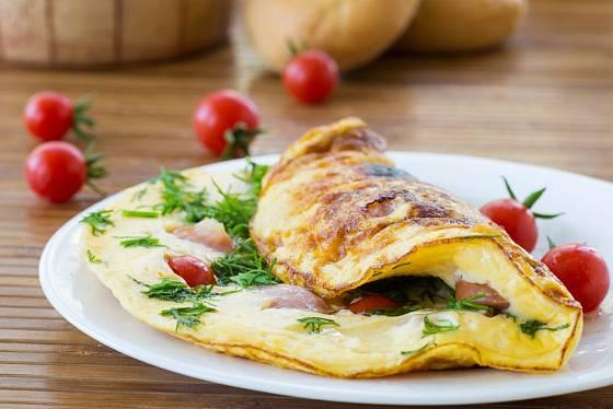 Pravá omeleta je nadýchaná a vláčná