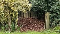 Listí můžeme s výhodou zkompostovat.