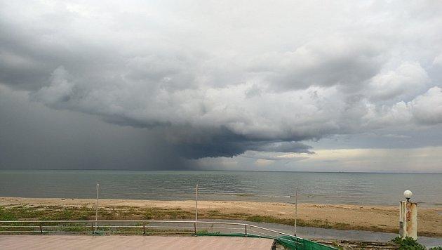 Oblaka nimbus přinášejí déšť