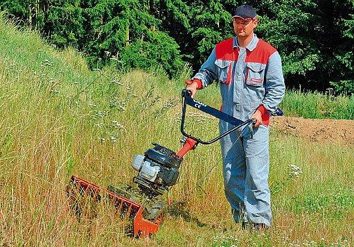 DSK 316 Vari v sestavě s mulčovačem trávy