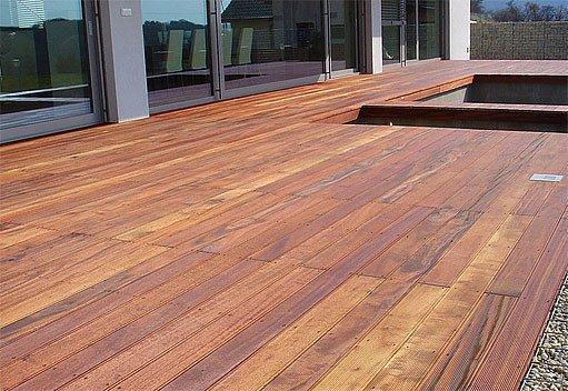 tropické dřevo, decking