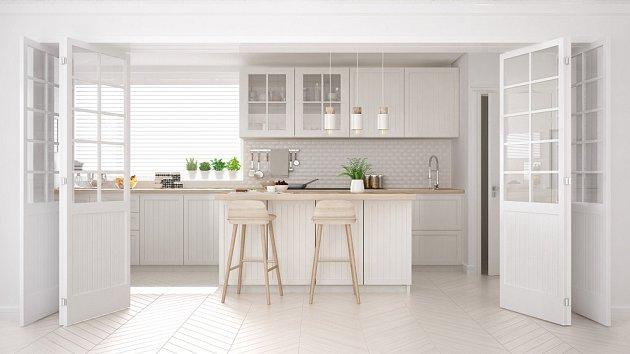 Kouzlo minimalismu spočívá také ve volbě vhodných barev.