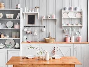 Renovace kuchyně nemusí být nákladná - stačí detaily, nápad a barvy