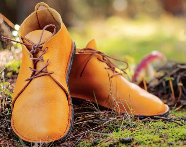 Ručně šité barefootové boty
