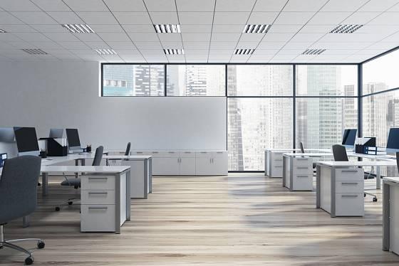 Problematické jsou zejména open space kanceláře