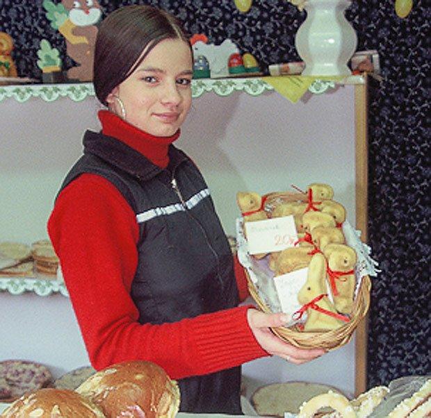Program začíná v devět hodin otevřením jarmarku s velikonočním zbožím
