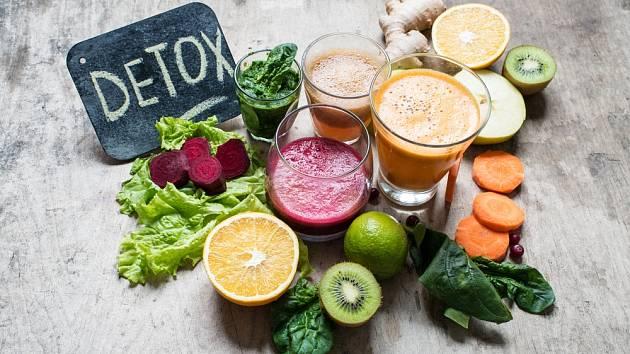 Pro detoxikační den je zásadní zelenina
