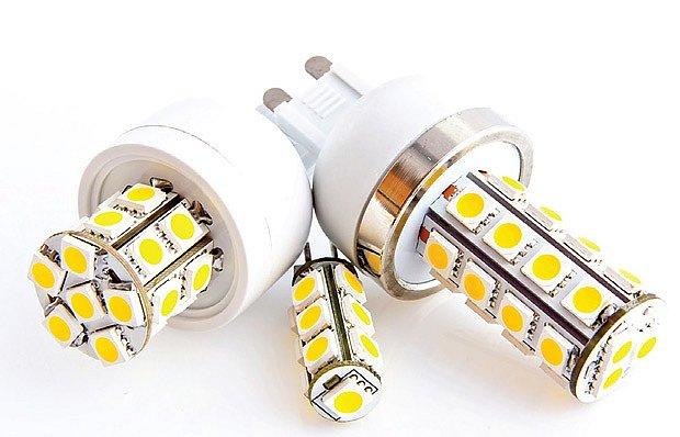 Moderní LED žárovky