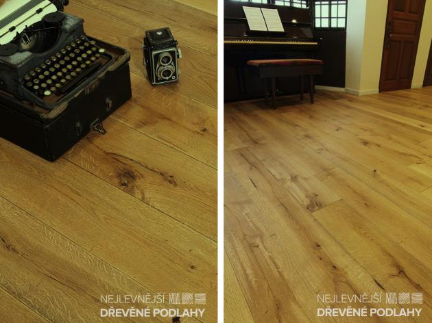 kresba dřeva dodává dřevěným podlahám originální vzhled