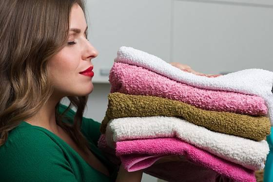Voňavé a měkké prádlo